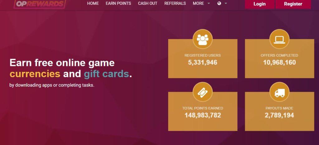 Oprewards - лотереи робуксов