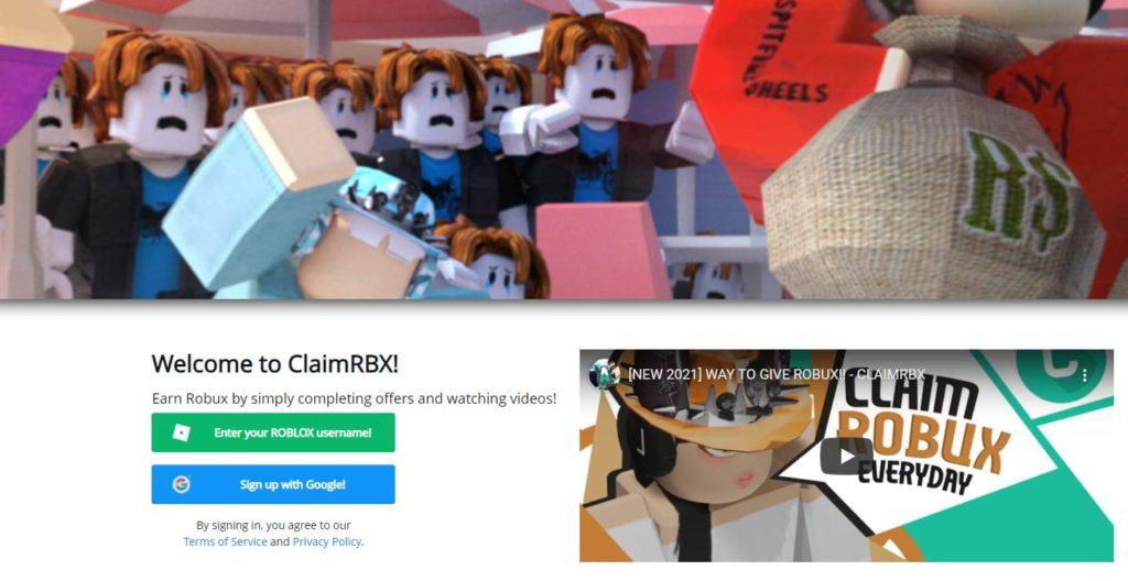 ClaimRBX - заработок в роблокс